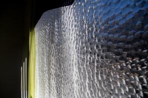 Alternating Current Gallery Window experimental installation - in progress