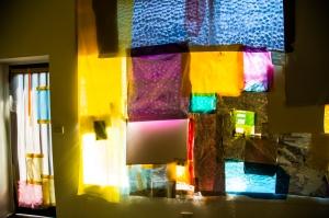 Alternating Current Gallery Window experimental installation - detail