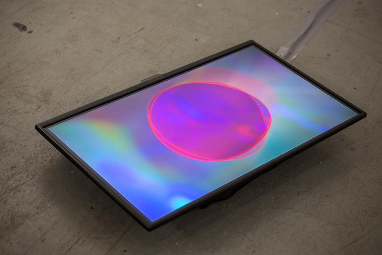 Linda Loh NARS NYC 2018 Residency Exhibition Deep Pink Installation view