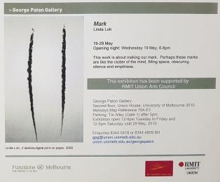 Linda Loh George Paton Gallery Mark 2010